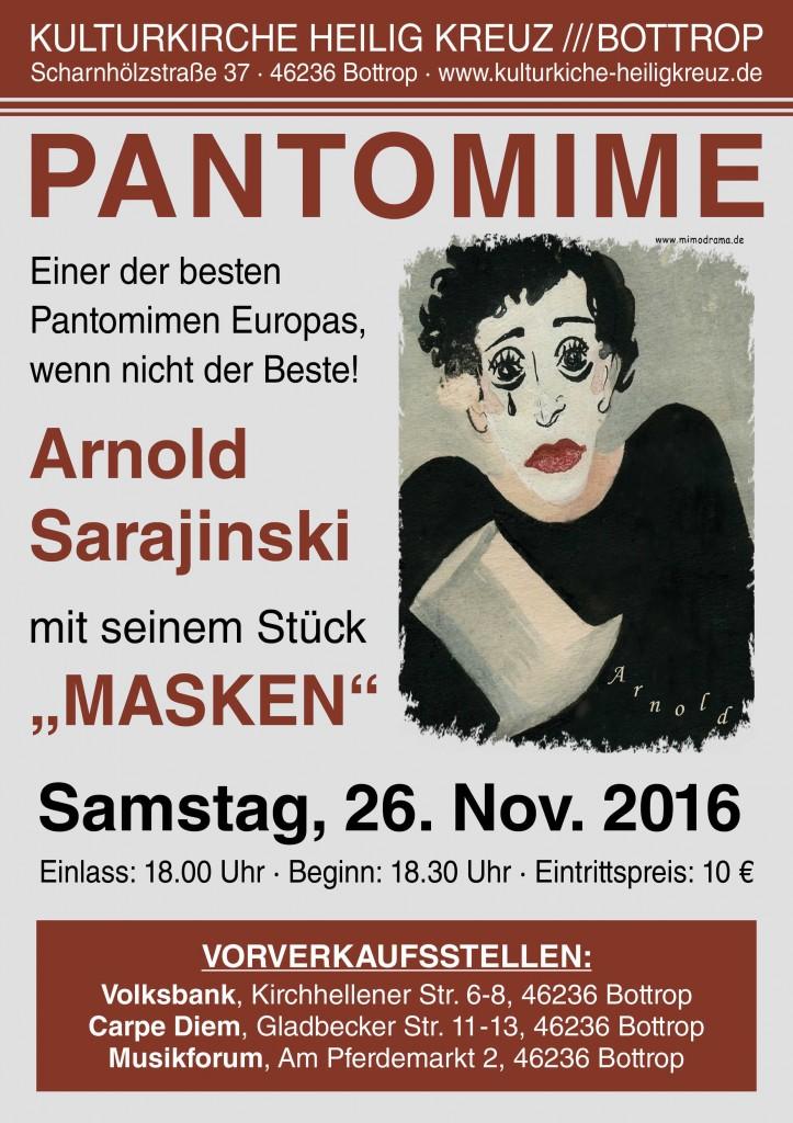 A3 Plakat Pantomime