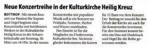 kulturkirche PR 19.3.14